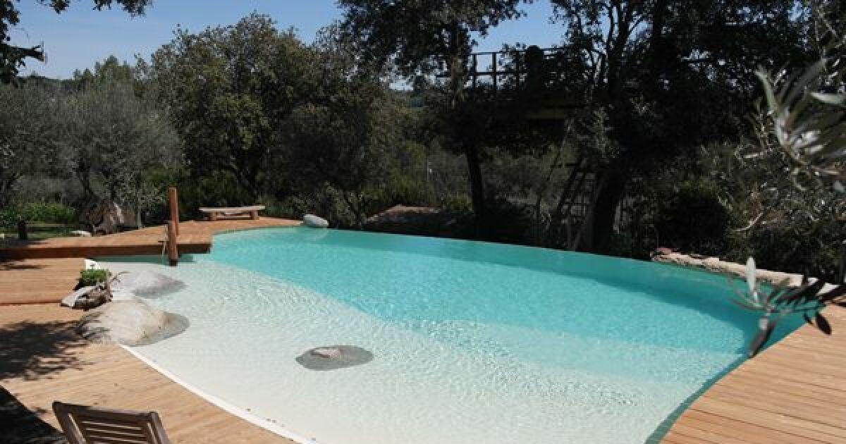 reportage photos piscines de luxe et d 39 exception piscine b ton forme libre photo 11. Black Bedroom Furniture Sets. Home Design Ideas