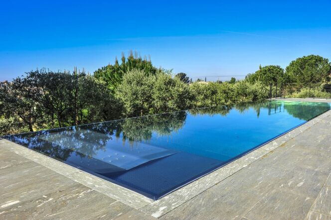 Piscine miroir Steel and Style© Steel and Style