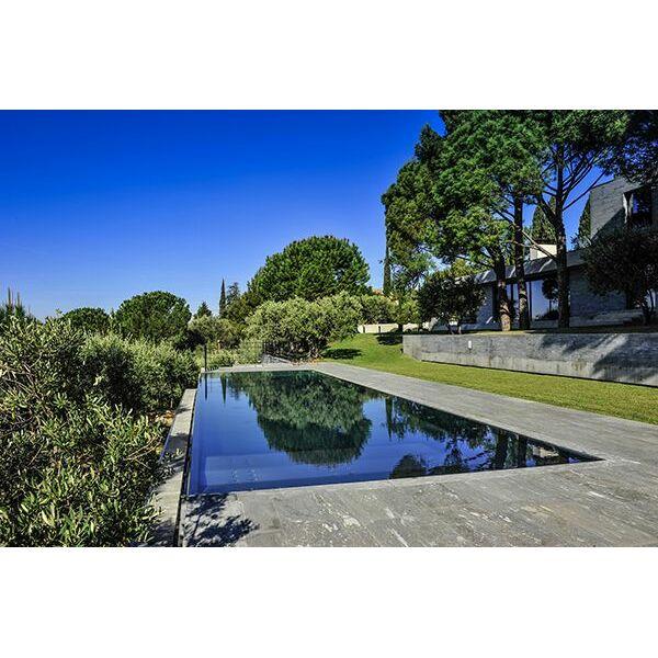 Piscine miroir steel and style piscine enterr e steel and style - Prix piscine miroir ...