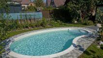 Montage d'une piscine kit en 3D, par Waterair