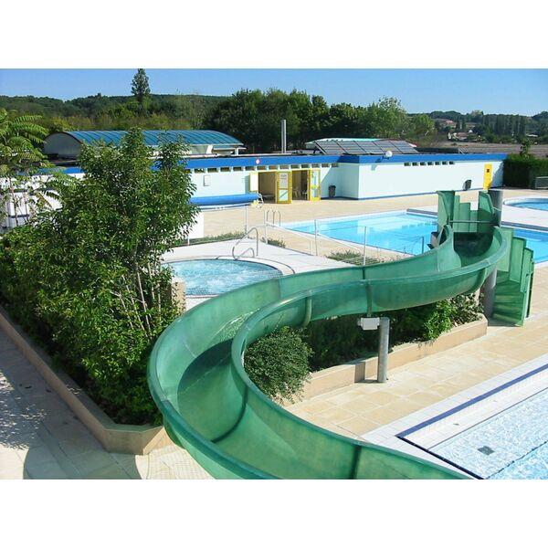 Design piscine municipale avec toboggan besancon 1832 for Piscine center