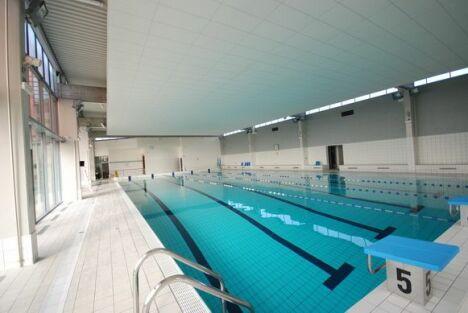 """Piscine de La Chapelle St Luc : le bassin de 25m<span class=""""normal italic"""">DR</span>"""