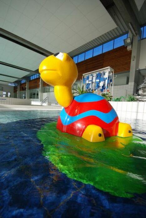 """La pataugeoire de la piscine municipale de La Chapelle St Luc<span class=""""normal italic"""">DR</span>"""
