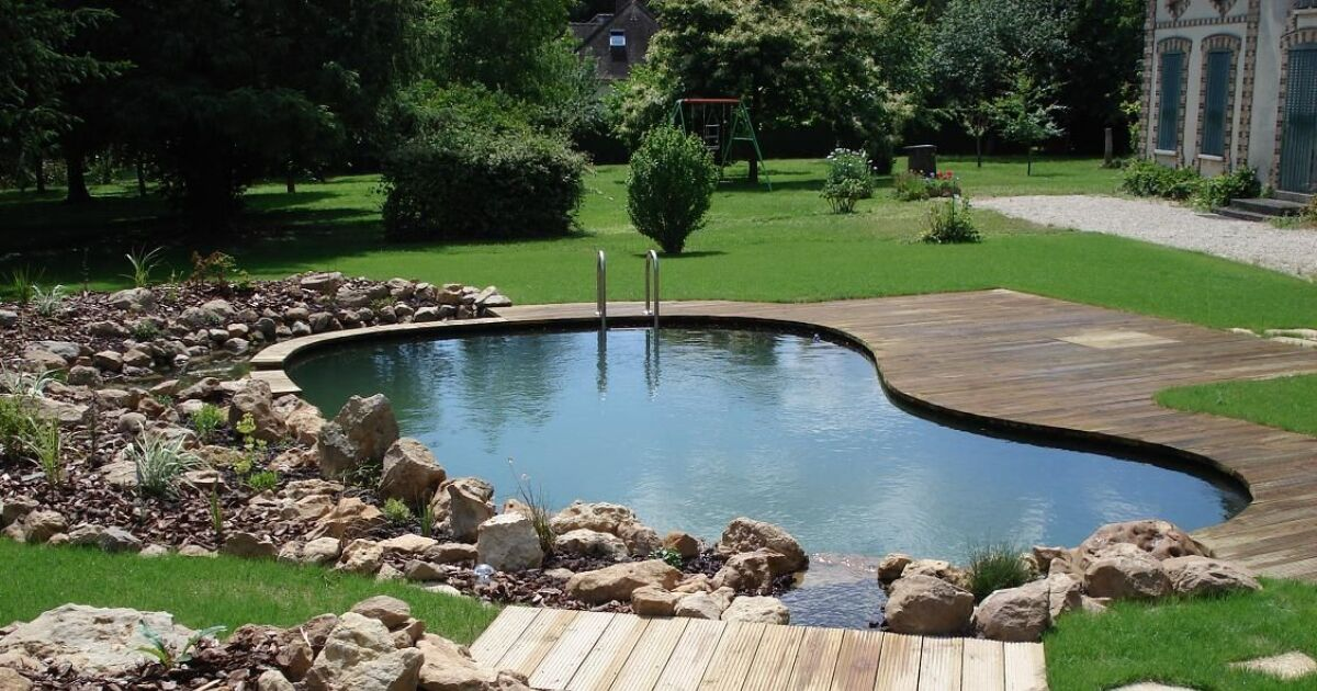 photos des plus belles piscines paysag res piscine naturelle photo 7. Black Bedroom Furniture Sets. Home Design Ideas
