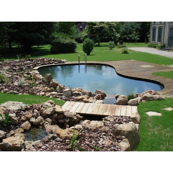 Piscines naturelles par patrick lemaire paysage for Chlore libre piscine