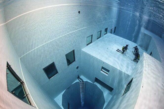 Piscine Nemo 33, l'une des plus profondes du monde