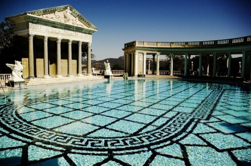Piscine Neptune du Hearst Castle, Californie
