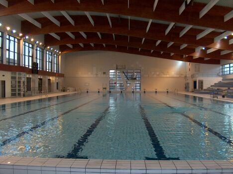 """La piscine à Chalons en Champagne est parfaitement adaptée pour les nageurs<span class=""""normal italic petit"""">DR</span>"""