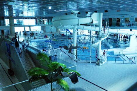 """POA à Montpellier : le bassin de plongée <span class=""""normal italic petit"""">© Montpellier Agglomération</span>"""