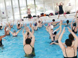 Des cours d'aquagym sont proposés à la piscine de Deauville