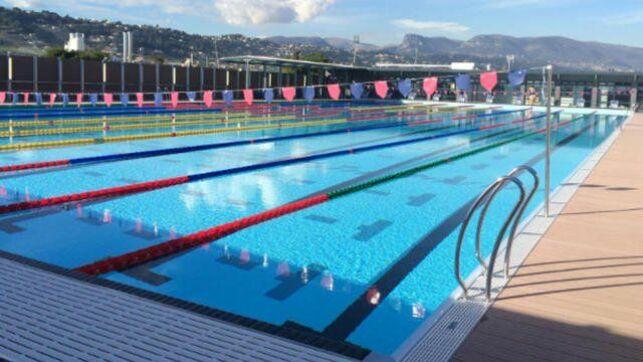 Piscine olympique de la Plaine du Var à Nice