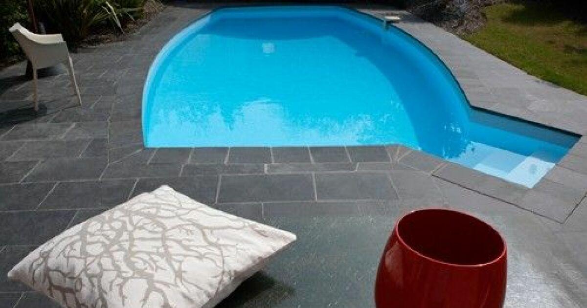 Piscine enterr e optima gamme privil ge caron for Prix d une piscine caron