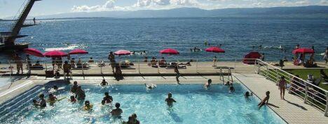 Piscine, plage de Thonon les Bains
