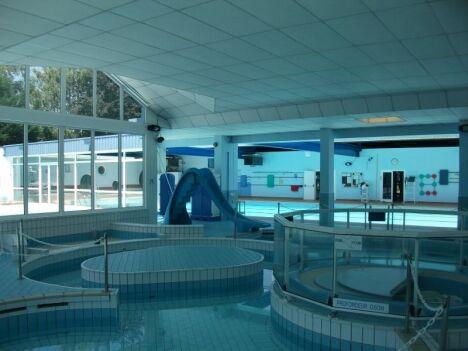 L'espace ludique de la piscine à Maizières Les Metz
