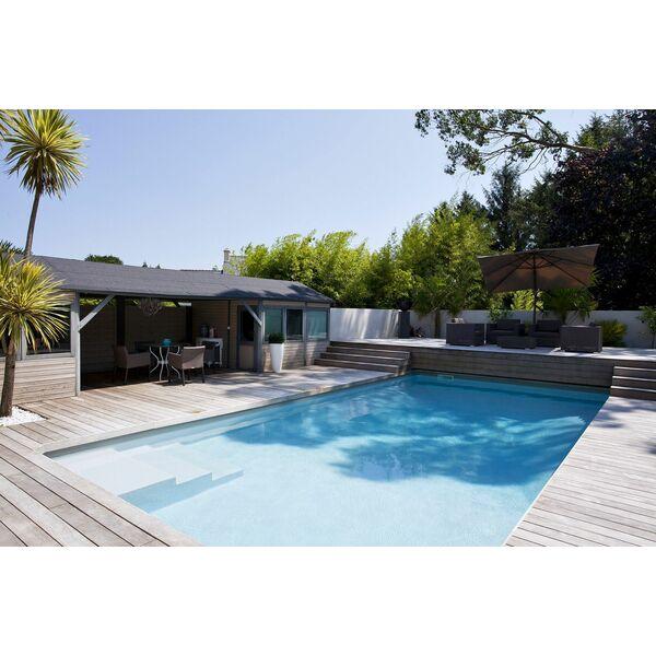 piscine rectangulaire carr bleu piscine enterr e. Black Bedroom Furniture Sets. Home Design Ideas