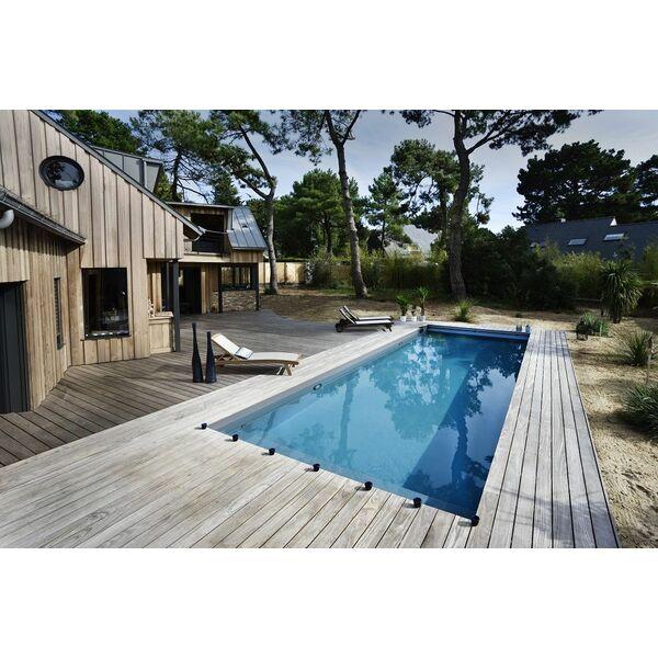 Piscine rectangulaire caron piscines piscine enterr e for Construction piscine caron