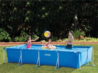 INTEX - Kit piscine Metal Frame Junior