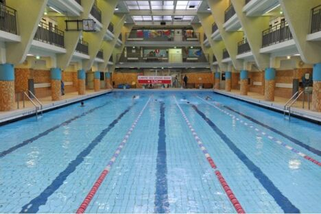 Piscine Rouvet à Paris (19e)