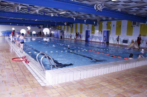 """La piscine Saint-Marc à Brest est habituée à accueillir des enfants.<span class=""""normal italic petit"""">DR</span>"""