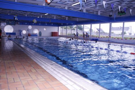 Le bassin de natation de la piscine Saint-Marc à Brest