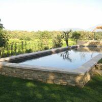 Photos de piscines semi-enterrées