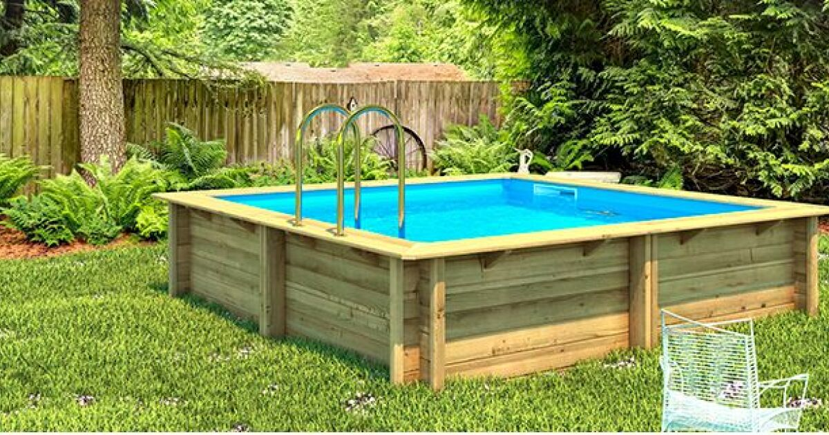 D couvrez les piscines bois en kit de procopi for Piscine en kit bois