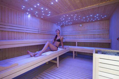 Le sauna de la piscine de Lesneven