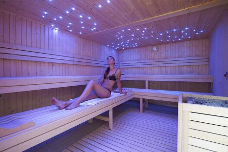 "Le sauna de la piscine de Lesneven<span class=""normal italic petit"">DR</span>"