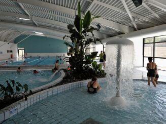 Le champignon à eau de la piscine Spadium à Monts