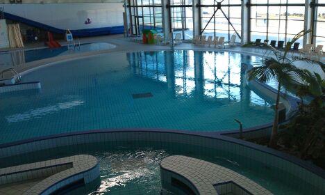 "Le bassin de loisirs du Spadiumparc de Brest<span class=""normal italic petit"">DR</span>"