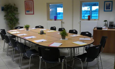 "Piscine Spadiumparc de Brest à le Relecq Kerhuon : la salle de réunion<span class=""normal italic petit"">DR</span>"