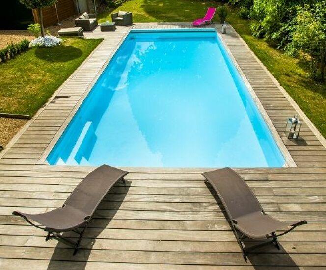Une r alisation d aquilus piscines for Piscine sur mesure