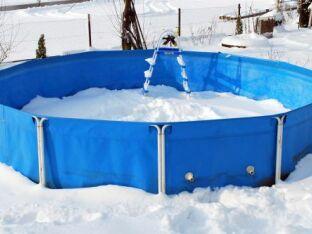 Peut on laisser une piscine tubulaire dehors en hiver ?