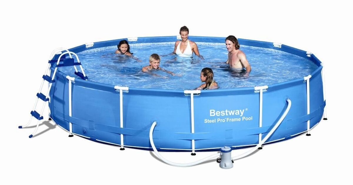 Piscine tubulaire ronde bestway for Liner piscine tubulaire ronde