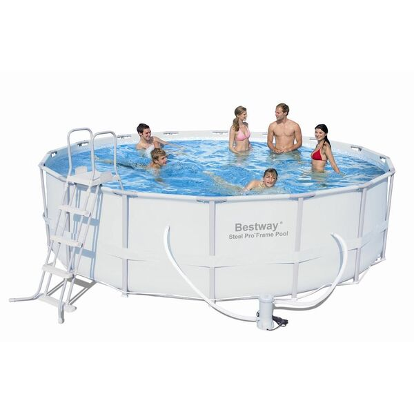 Piscine tubulaire ronde bestway for Piscine tubulaire ou acier