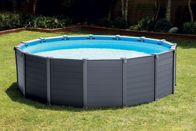 photos de piscines tubulaires piscine tubulaire ronde. Black Bedroom Furniture Sets. Home Design Ideas