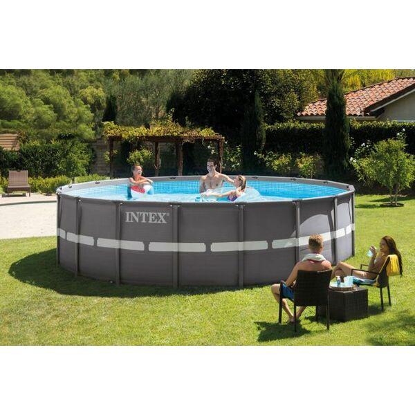 piscine tubulaire ronde ultra frame piscine hors sol. Black Bedroom Furniture Sets. Home Design Ideas