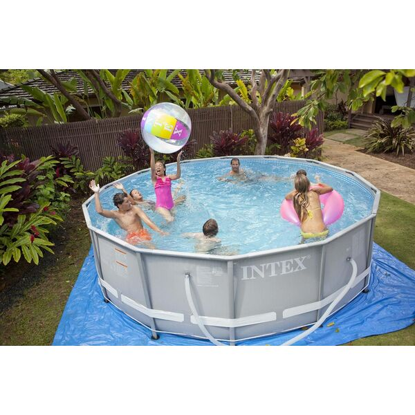 Piscine ultraframe d 39 intex piscine robuste et conviviale for Vanne d arret piscine intex