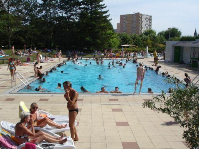 La piscine d'été à St Memmie