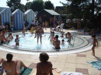 La pataugeoire pour les enfants à la piscine Vauban à Saintt Memmie