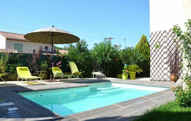 Modèle de piscine Vénus © Piscines Groupe G.A