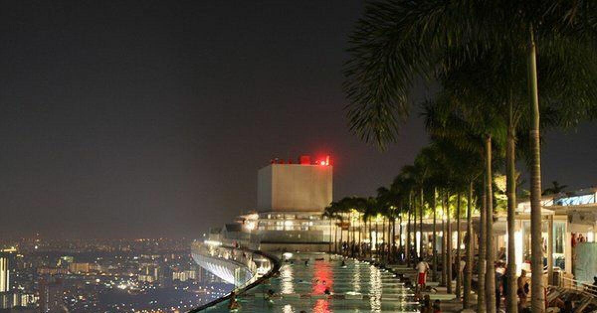 Les 10 plus belles piscines d 39 h tels dans le monde for Hotel dans le monde