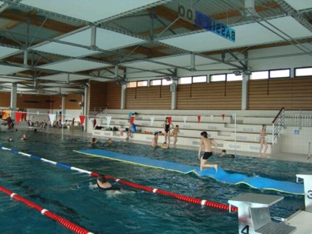 Piscine Aquanoblat : le grand bassin