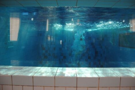"""La fosse à plongeon à Fougères<span class=""""normal italic petit"""">DR</span>"""