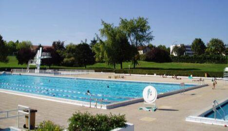 """Piscine de la Grenouillère - Parc de Sceaux à Antony<span class=""""normal italic petit"""">DR</span>"""
