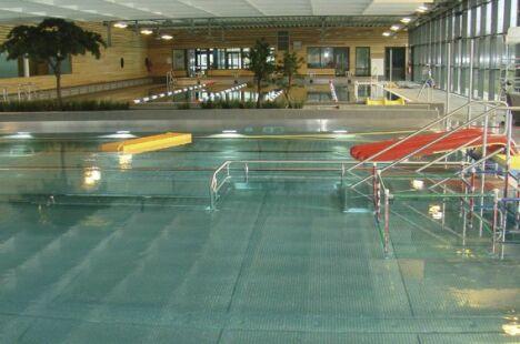 """Le bassin ludique de la piscine de Ste Anne sur Brivet<span class=""""normal italic petit"""">DR</span>"""