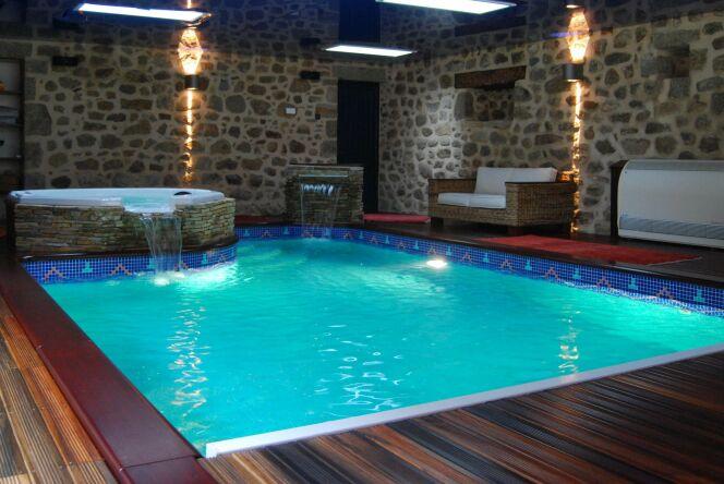 Photos des plus belles piscines int rieures pour nager for Construire piscine interieure