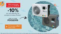 Piscineco : -10% sur votre pompe à chaleur