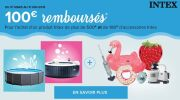 Piscineco.fr : 100€ rembousés sur les produits Intex