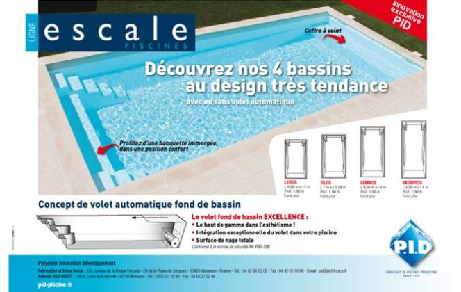 Piscines Coques Excellence - PID DR